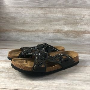 Betula 240 By Birkenstock Leather Comfort Sandals